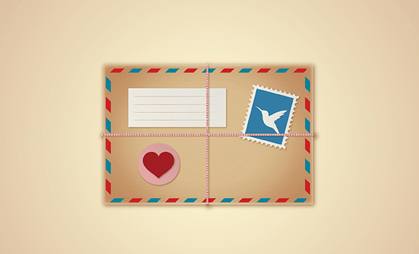 How to Create Vintage Love Envelope in Illustrator