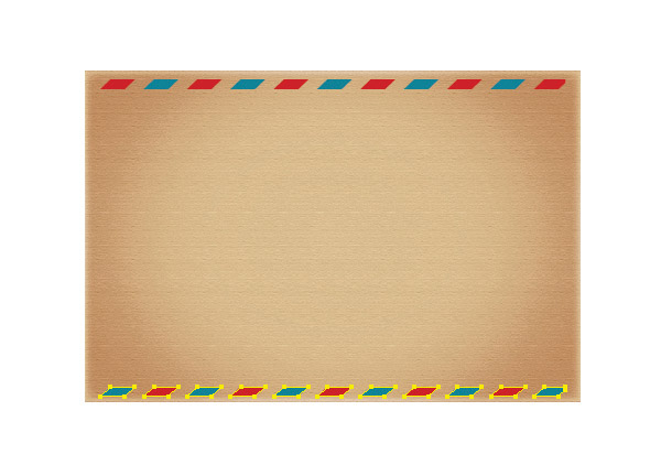 How to create vintage love envelope in Illustrator