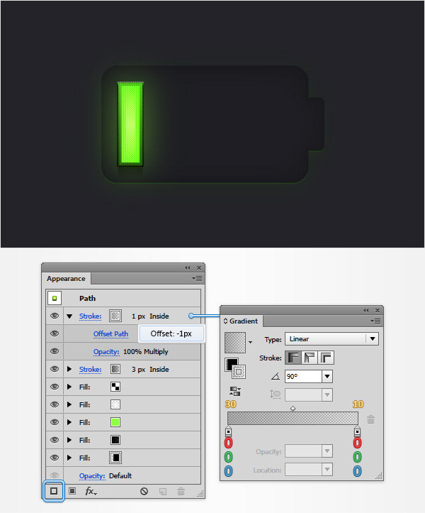 Battery Meter Icon 16