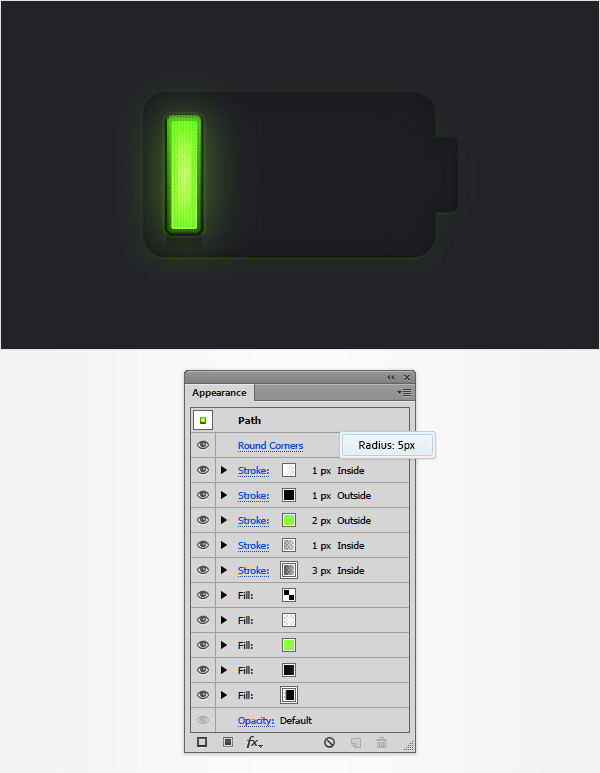 Battery Meter Icon 20