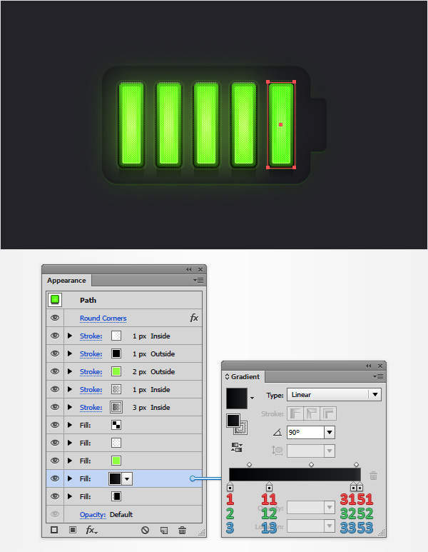 Battery Meter Icon 24