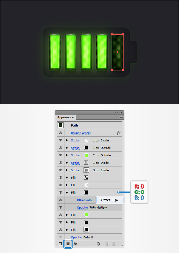 Battery Meter Icon 25