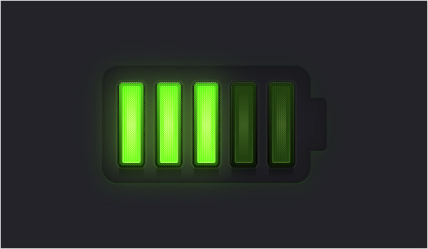 Battery Meter Icon 30