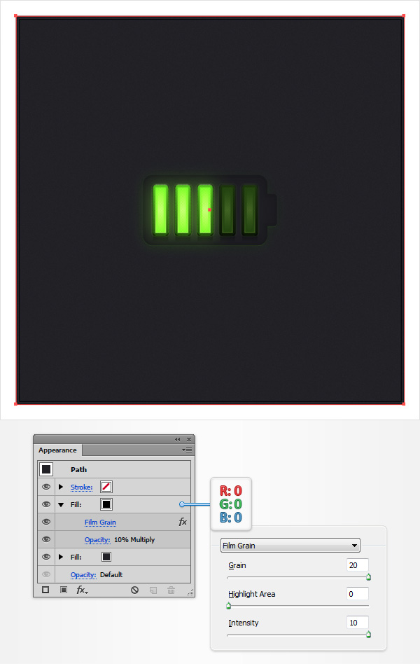 Battery Meter Icon 34