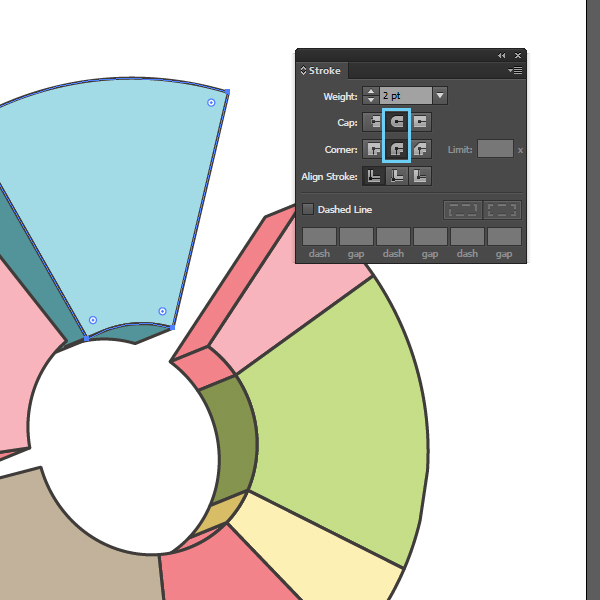 How to create a Pie Chart illustration using Adobe Illustrator 12