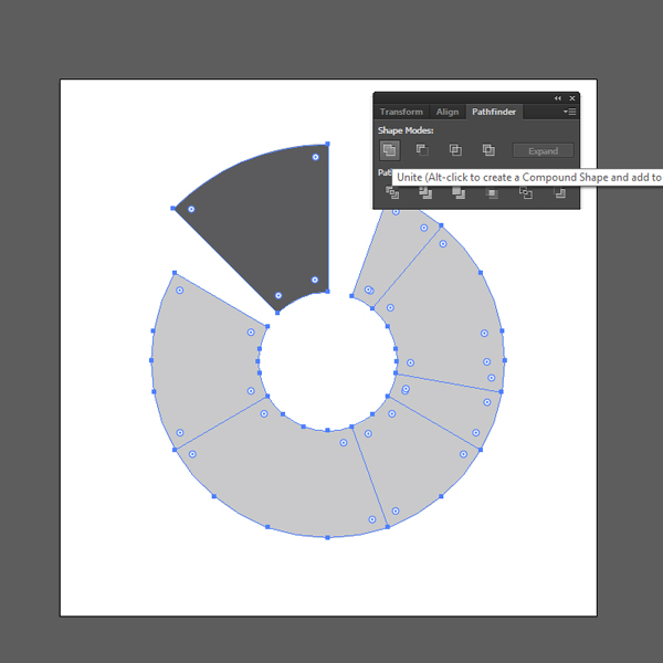 How to create a Pie Chart illustration using Adobe Illustrator8