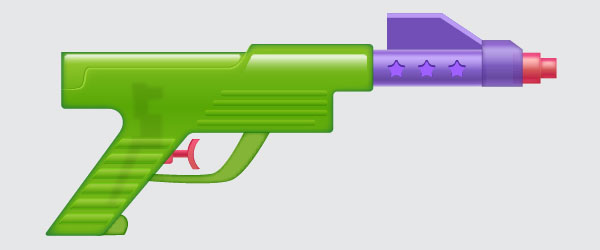 Create a Water Gun in Adobe Illustrator 2