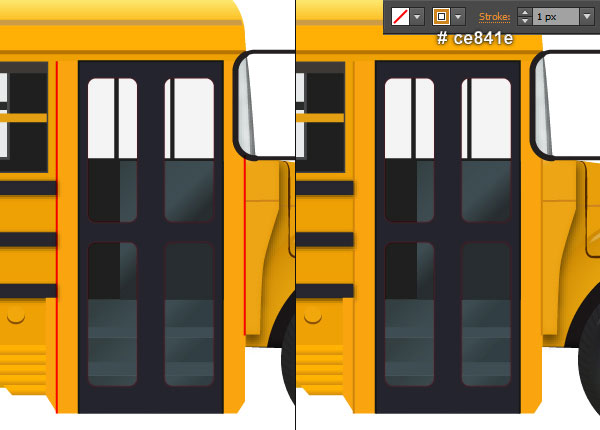 Create a School Bus in Adobe Illustrator 2