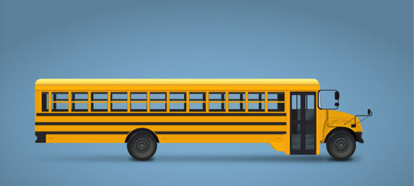 Create a School Bus in Adobe Illustrator