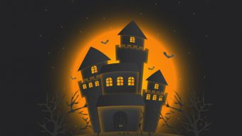 How to Create Haunted Castle for Halloween with Illustrator