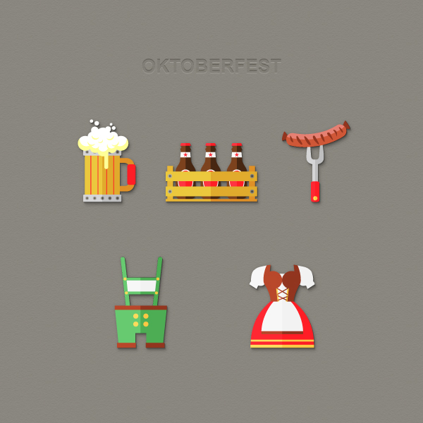 Create a Set of Oktoberfest Inspired Icons in Adobe Illustrator