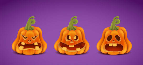 Create a Halloween Set with Pumpkins in Adobe Illustrator