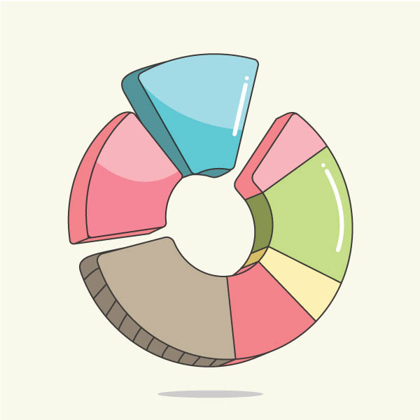 How to Create a Pie Chart in Adobe Illustrator