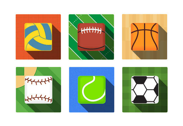How to Draw a Pack of Six Sport Icons in Illustrator