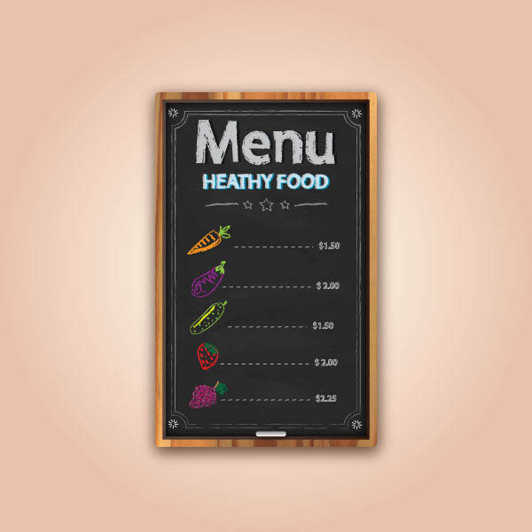 Create a Chalkboard Menu in Adobe Illustrator