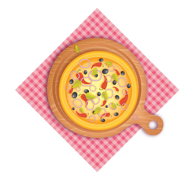How to Create Delicious Pizza in Adobe Illustrator