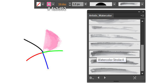Create a Floral Watercolor Wreath in Adobe Illustrator 2