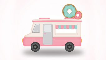 How to create food truck in Illustrator