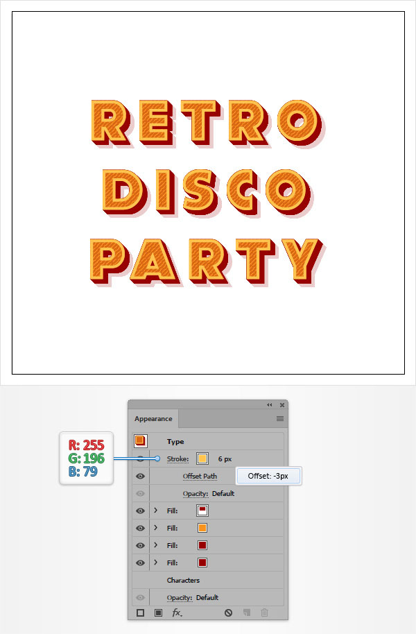 How to Create a Retro Text Effect in Adobe Illustrator 10