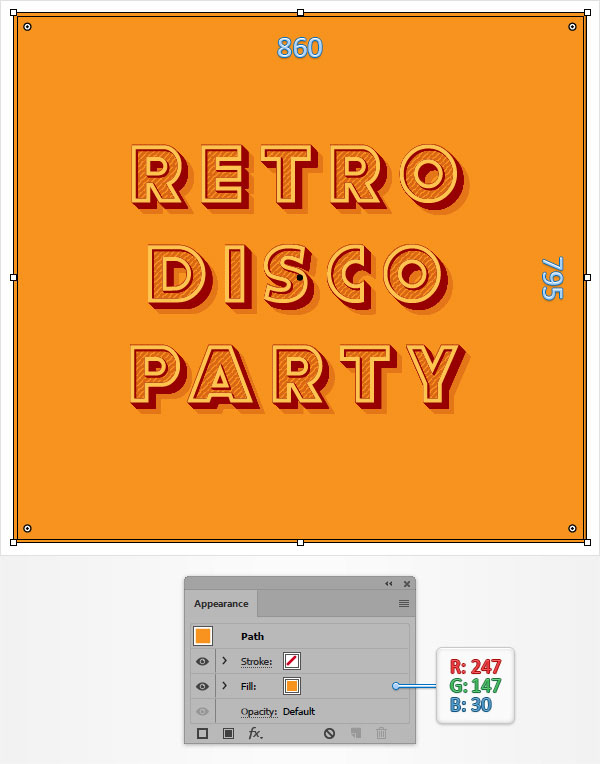 How to Create a Retro Text Effect in Adobe Illustrator 12