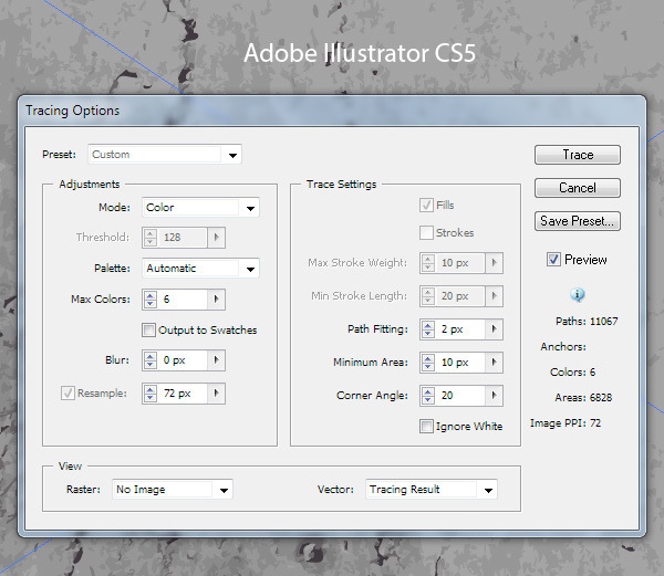 How to Create Textures in Adobe Illustrator 16