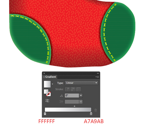 Create a Cute Christmas Sock in Adobe Illustrator 13