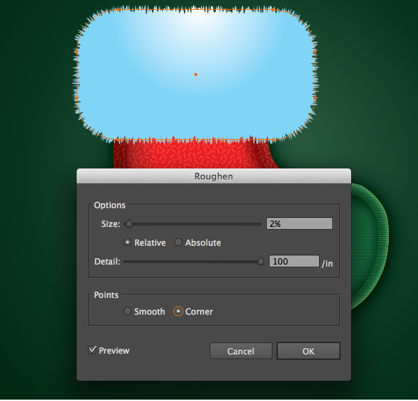 Create a Cute Christmas Sock in Adobe Illustrator 26