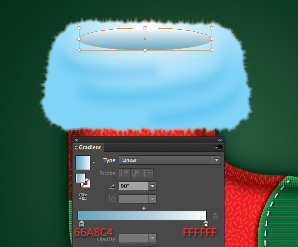 Create a Cute Christmas Sock in Adobe Illustrator 34