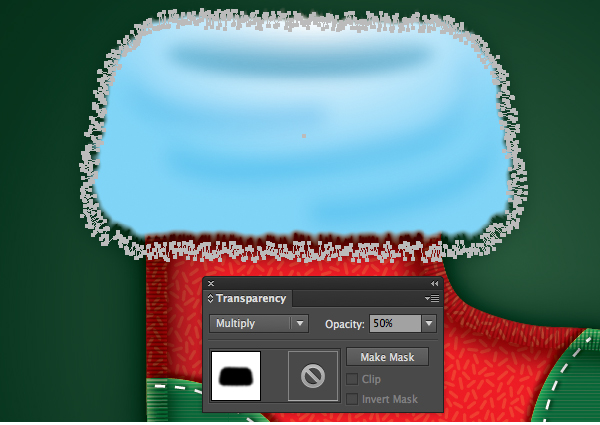 Create a Cute Christmas Sock in Adobe Illustrator 39