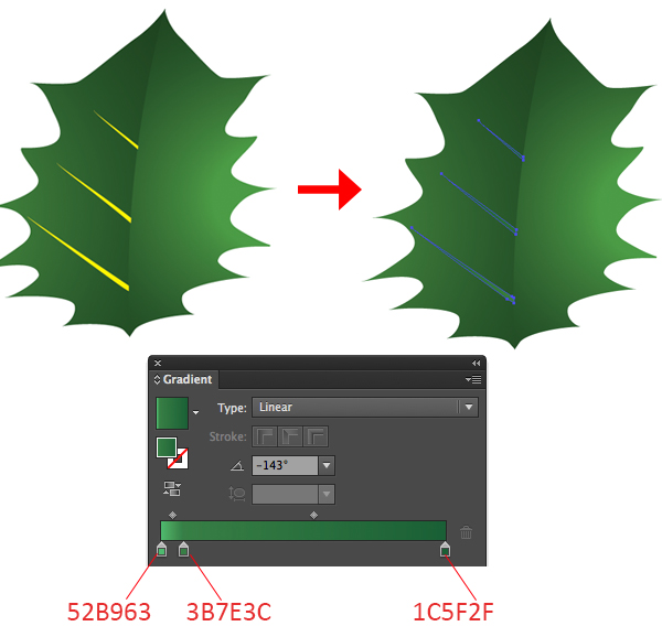 Create a Cute Christmas Sock in Adobe Illustrator 47