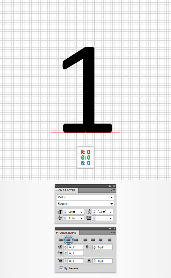 Create a Simple Flip Clock in Adobe Illustrator 2