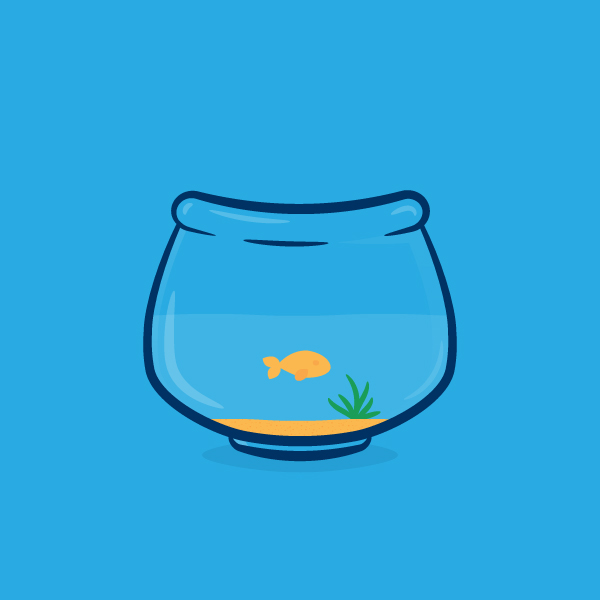 How to Create a Fishbowl Illustration