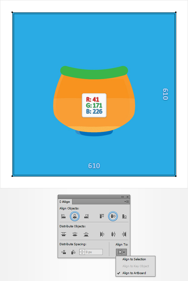 How to Create a Fishbowl Illustration24