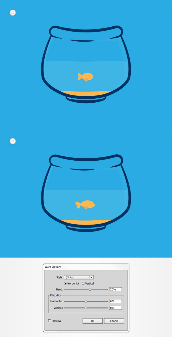 How to Create a Fishbowl Illustration33