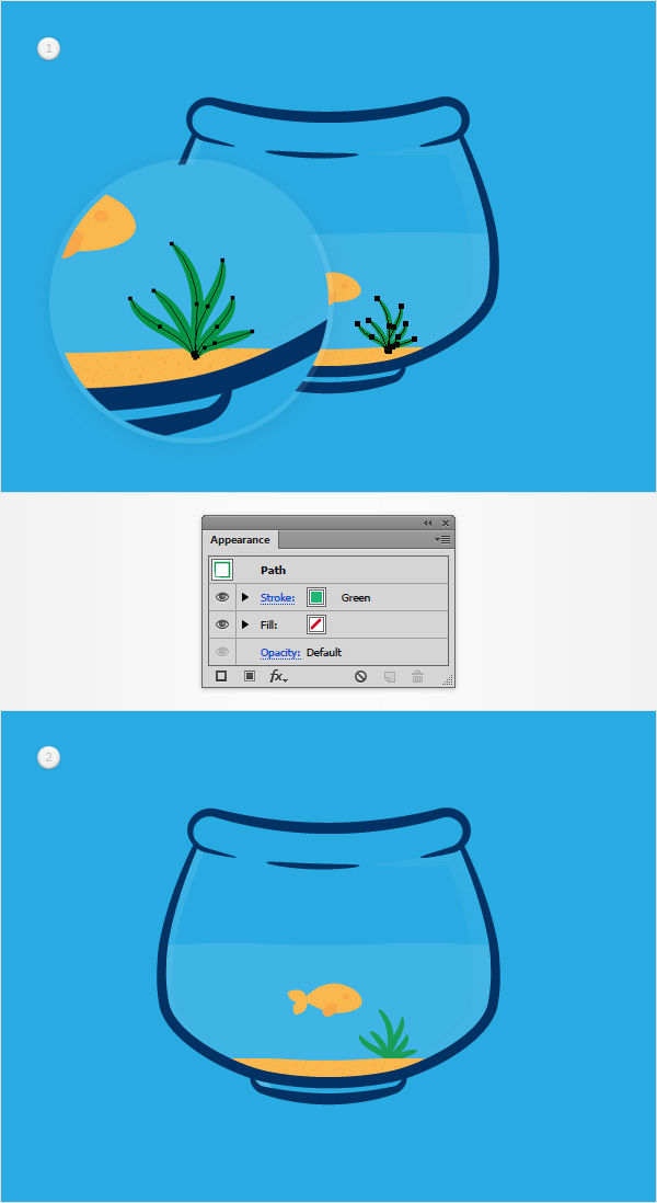 How to Create a Fishbowl Illustration34