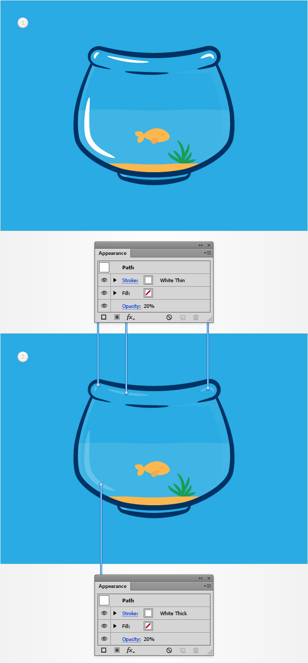 How to Create a Fishbowl Illustration35