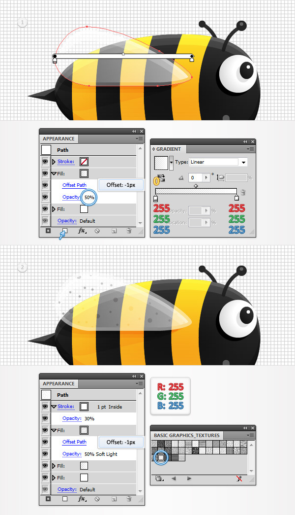 Create a Funny Bee Swarm Illustration in Adobe Illustrator 24