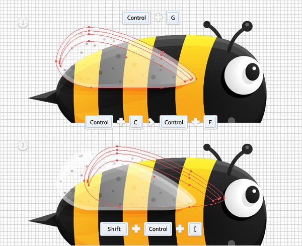 Create a Funny Bee Swarm Illustration in Adobe Illustrator 25