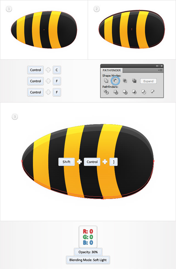 Create a Funny Bee Swarm Illustration in Adobe Illustrator 9