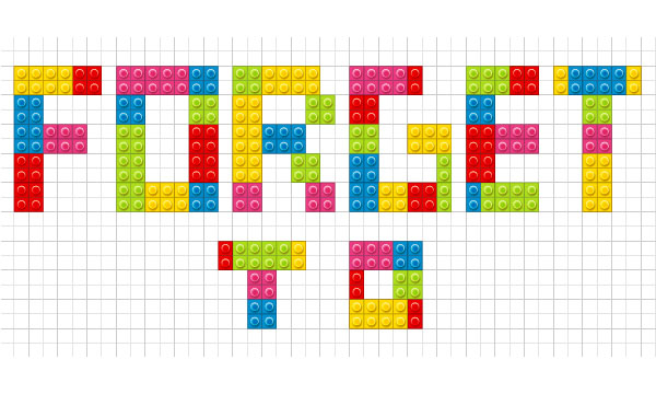 How to Create a Lego Text Effect in Adobe Illustrator 22
