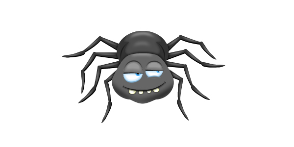 How to Draw a Spider Cartoon Character in Adobe Illustrator
