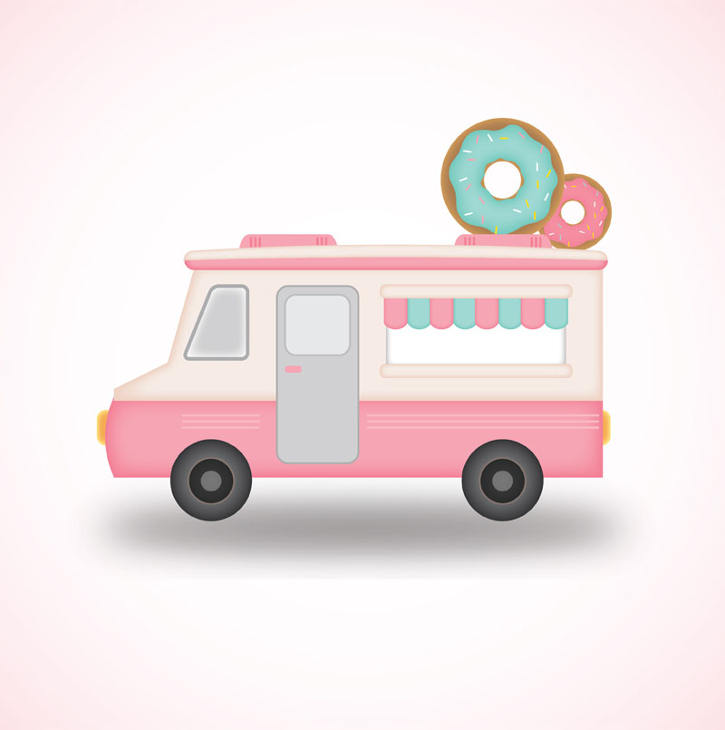 How to Design a Food Truck in Adobe Illustrator
