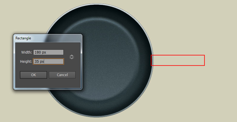 How to Create a Frying Pan in Adobe Illustrator 2