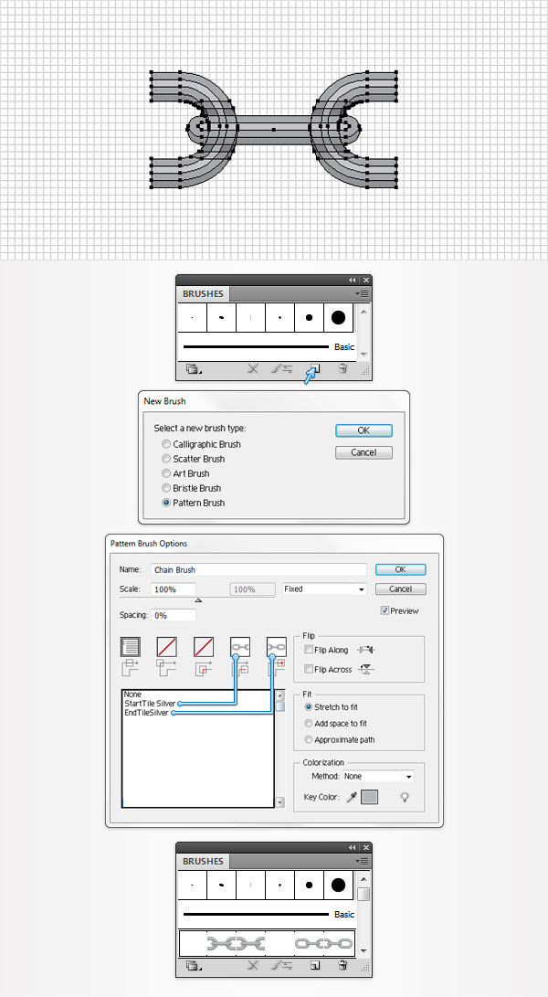 How to Create a Pattern Brush in Adobe Illustrator 15