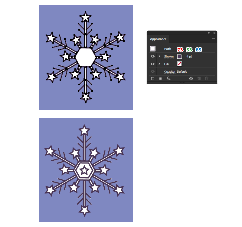 How to Create a Winter Seamless Pattern in Adobe Illustrator 20