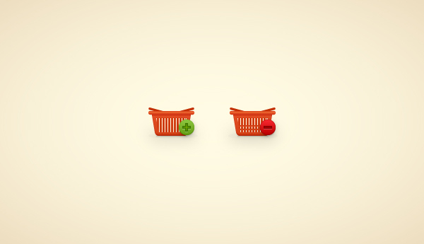 How to Create a Shopping Basket Icon in Adobe Illustrator