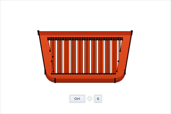 How to Create a Shopping Basket Icon in Adobe Illustrator 12