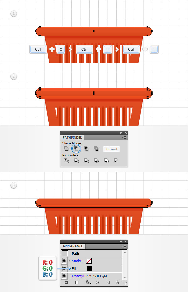 How to Create a Shopping Basket Icon in Adobe Illustrator 14