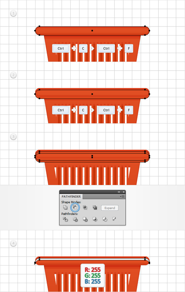 How to Create a Shopping Basket Icon in Adobe Illustrator 16