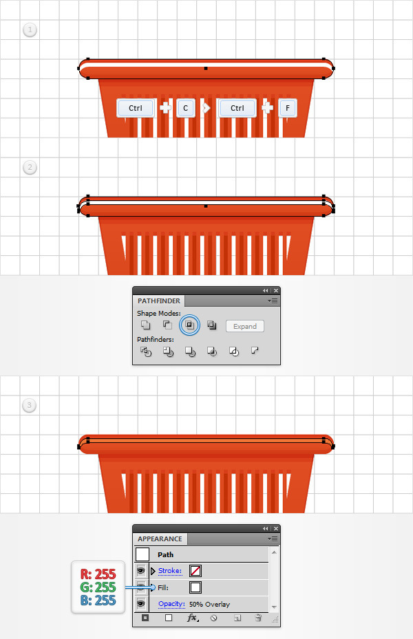 How to Create a Shopping Basket Icon in Adobe Illustrator 17